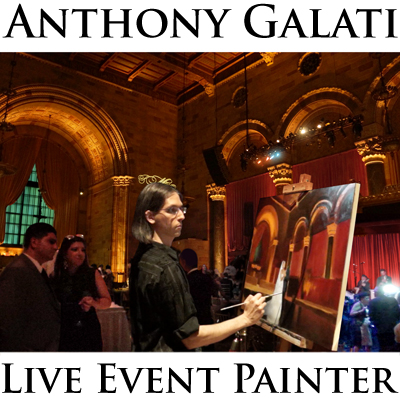 Logo Anthony Galati Live Event Painter - Ashe Productions