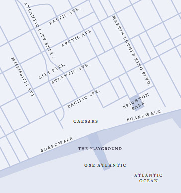 one atlantic map - Map & Directions